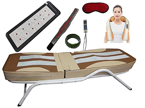 CAREFIT Full Body Jade Spine Therapy Thermal Massage 4500 Gold Commercial Bed