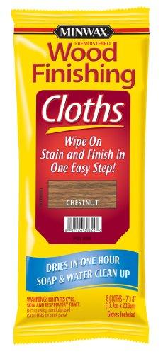 Minwax 308220000 Wood Finishing Cloths, Chestnut