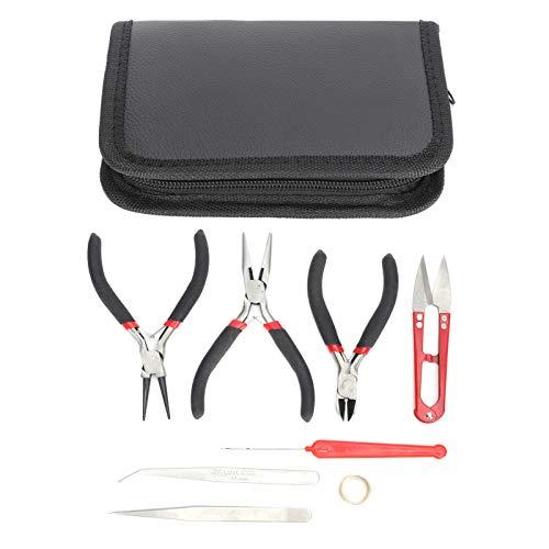 Kit de fabricación de Joyas, Kit de Herramientas de fabricación de Joyas, Suministros de fabricación de Joyas para la fabricación y reparación de Joyas