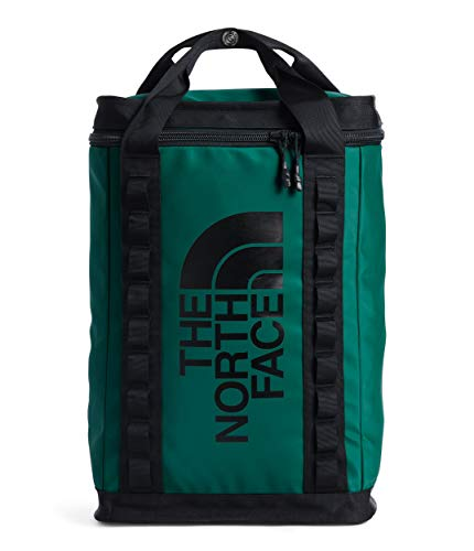 The North Face Explore Fusebox Daypack—L, Evergreen/TNF Black, OS