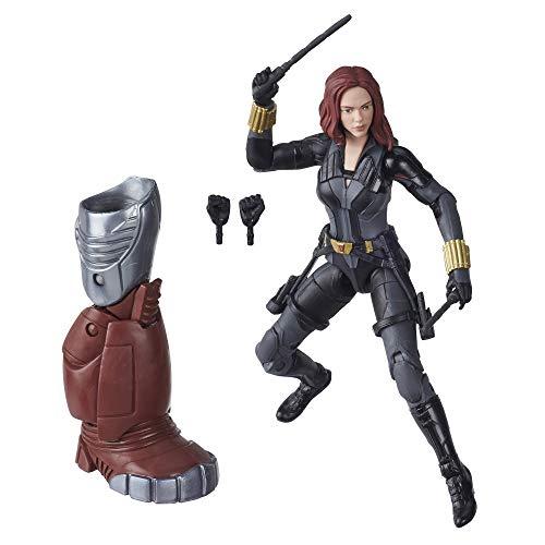 Marvel Legends Series - Black Widow (Action Figure 15cm da Collezione, Build-A-Figure Crimson Dynamo, Ispirata al Film Black Widow)