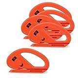 Ehdis 5 PCS Taglierino Coltello Cutter Professionale, Safety Cutter per Auto Window Tint Wrap Pellicola Wrapping, Pellicola dell'involucro del Vinile, Carta da Parati