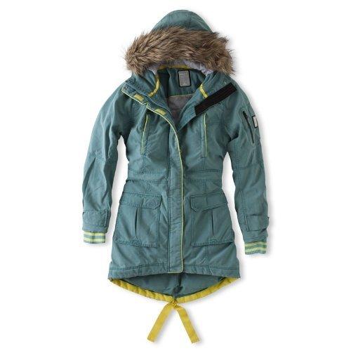 Brunotti wintermantel Jenipher Womens jas groen dames mantel maat Xs