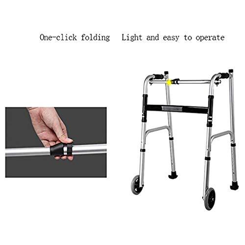 Rollator Met Armsteun, Lichtgewicht Walker Roller Met Grote Wielen Onderste Lidmaat Trainer Standard Walker Voor Ouderen Senioren Handicap Met Een Handicap,4 wheels