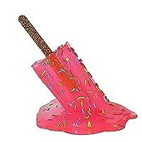 アイスキャンデーの溶けた樹脂の装飾品樹脂工芸品クールな家の手描きの装飾完璧な耐久性のある装飾品