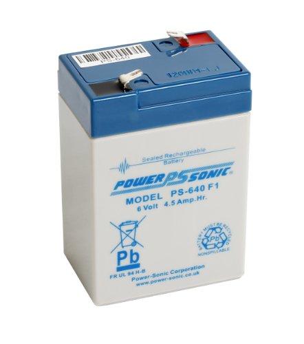 Powersonic 6Volt 4Ah 4,5Ah Blei Säure wiederaufladbar Alarm/Modell Akku