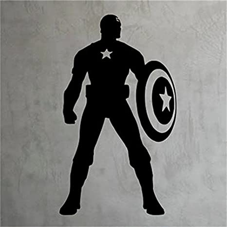 Captain America Shield  Vinyl Decal-Car Decal-Wall Decal