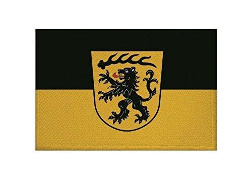 U24 Aufnäher Landkreis Göppingen Fahne Flagge Aufbügler Patch 9 x 6 cm