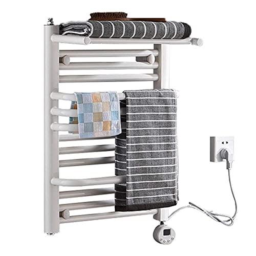 WGFGXQ Estante de rieles de Toalla portátil con múltiples Barras calefactoras Termostático...