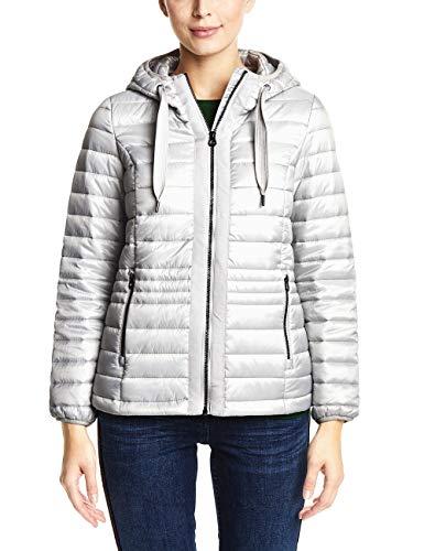 CECIL Damen Jacke 201188, Silver Space Grey, XX-Large (Herstellergröße: XXL)