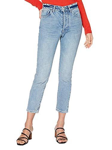 ARMANI EXCHANGE 11,5 Ounces Cotton Jeans Slim, Blu (Indigo Denim 51), 44 (Taglia Produttore: 24) Donna