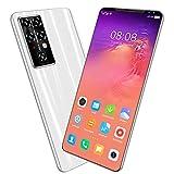 Smartphone Libre, Android 10 Teléfono Móvil con Pantalla HD+ de 5.5', 6GB + 128GB, Batería de 5600mAh, Dual SIM Teléfono Móvil Libres 4G,Blanco