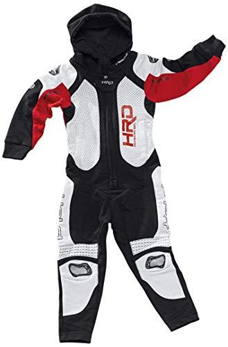 Held Slade Jumpsuit kinderen 140 zwart/rood
