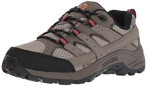 Merrell Kids' Unisex M-Moab 2 Low Lace Hiking Shoe, Bark Brown, 6.5 W US Big Kid
