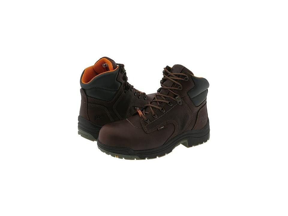 Timberland PRO Titan Waterproof 6 Safety Toe (Dark Mocha) Women