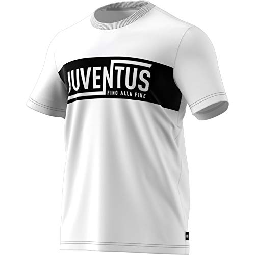 adidas Herren Juve STR Gr Tee Hemd, weiß, S