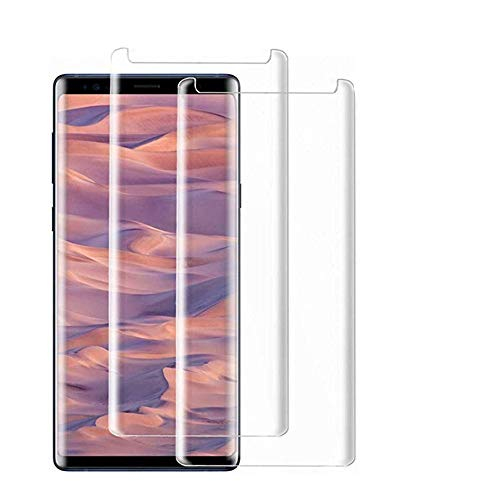 [2 - Pack] Samsung Galaxy Note 8 Tempered Glass Screen Protector,[HD Clear][Anti-Bubble][9H Hardness][Anti-Scratch][Anti-Fingerprint] Screen Protector Compatible Galaxy Note 8