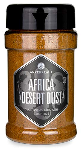 Ankerkraut Africa Desert Dust, BBQ-Rub der afrikanischen Wüste zum Grillen, 200g im Streuer