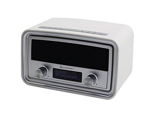 Soundmaster UR190WE DAB+/ UKW Uhrenradio mit USB Ladebuchse