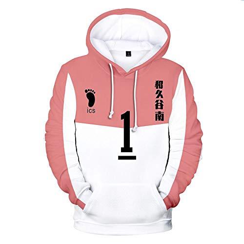 Haikyuu Hinata Shoyo Hoodie Pullover Cosplay Jacke Anime Nekoma Oikawa Tooru Sweatshirt Kapuzenpullover Sport Streetwear A- 5XL
