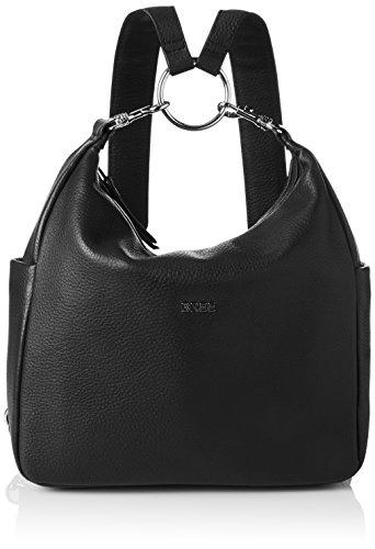 BREE Damen NOLA 10 Rucksackhandtasche, Schwarz (Black), 32x9x28 cm (B x H x T)