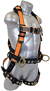 Malta Dynamics Warthog MAXX Side D-Ring Harness with Removable Belt and Additional Padding (S-M-L), OSHA/ANSI Compliant