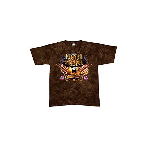 Camiseta Lynyrd Skynyrd [tye dye Líquido Azul] - L