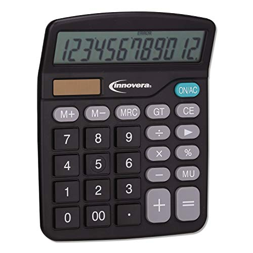 Unknown1 Desktop Calculator 12-Digit LCD