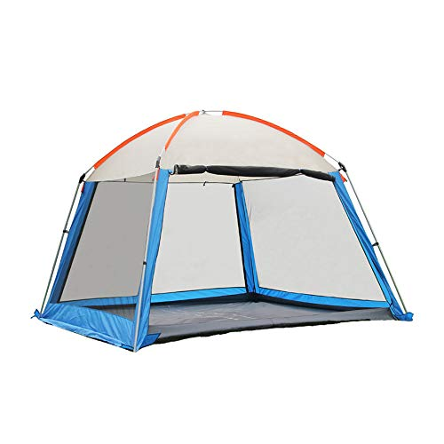 Forall-Ms 3x3m Camping Gazebos with Sides,Heavy Duty Gazebo Garden Pavilion Party Tent Event Shelter, Waterproof Canopy Lightweight,Hiking and Barbecue,B