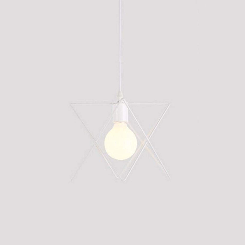 HDZWW Simple Personalidad Dormitorio Creativo Pasillo Mesa de la Sala BarPendant Luz Ventilador Industrial Araa Altura Ajustable (Color   blanco)