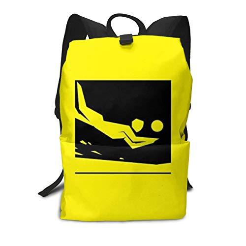 Homebe Mochila Unisex, Mochilas y Bolsas,Lovely Love Volleyball Just Volleyball Printed Primary Junior High School Bag Bookbag