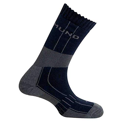 Mund Socks – Himalaya Wool Merino Thermolite, Couleur Navy, Taille EU 38 – 41
