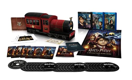 Harry Potter-L'intégrale des 8 Films [Édition Collector Ultimate-Hogwarts Express-4K Ultra HD + Blu-Ray + Goodies]