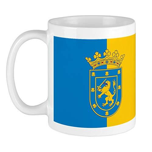 CafePress - Santiago Flagge Tasse - Einzigartige Kaffeetasse, Kaffeetasse, Teetasse