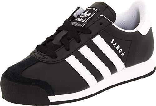 adidas Originals Samoa Zapatillas (Little Kid/Big Kid), color Negro, talla 28 EU