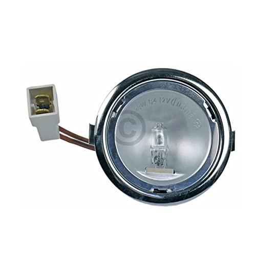 DL-pro Halogenlampe Lampe für AEG Electrolux Juno Zanussi 5026158400/2 50261584002 5026158400 mit Gehäuse für Dunstabzugshaube Abzugshaube Dunstabzug Dunsthaube