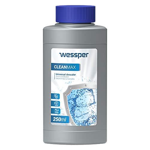 Wessper Decalcificatore Macchine Caffe Decalcificante Anticalcare - compatibile con DeLonghi Nespresso Bosch Krups Tassimo Seaco Durgol (250ml)