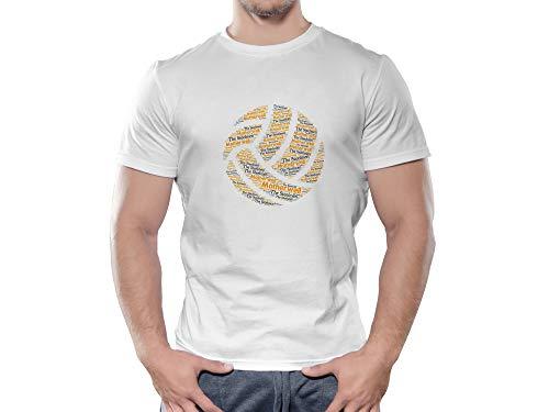 Motherwell FC Novelty Football Ball T Shirt, (X Large)