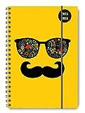 Collegetimer Sunglasses 2015/2016 - Schülerkalender A5 - Weekly - Ringbindung / Ringbuch - 224 Seiten