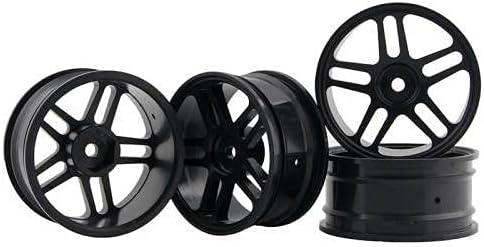 High quality 4PCS 2021new shipping free 1:10 Aluminum Alloy Wheel Hub 94122 W 94123 Metal Universal