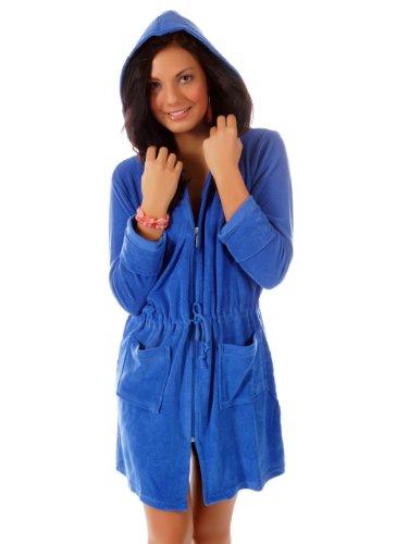 WeWo fashion Damen Kapuzenmantel 031 royal L