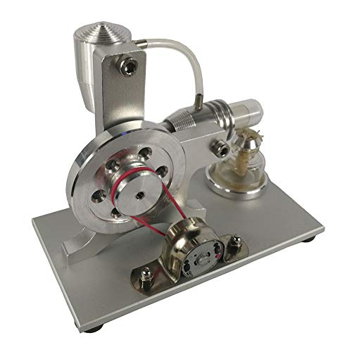 qingshuang L-Type Shenbing Stirling Engine Model Micro Generator Model steam Engine Model Mini Engine