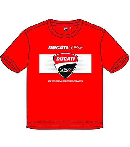 Ducati - Camiseta roja para niño Kid Corse - oficial 2019 -...