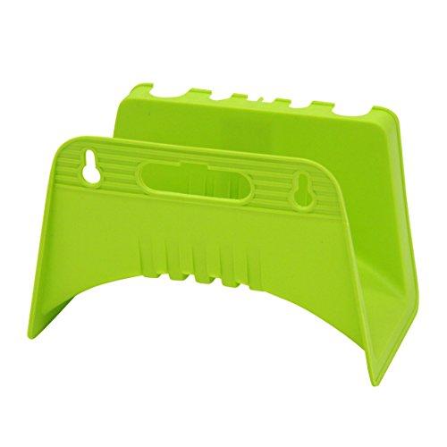 Xclou Wandschlauchhalter, Schlauchhalter, Wandaufhängung für Gartenschlauch, schnelle Montage, apfelgrün