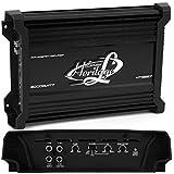 1 LANZAR HTG257 HTG 257 amplificatore a 2 canali da 1300 watt rms 2 x 650 rms e 2000 watt max per porte o subwoofer, 1 pezzo