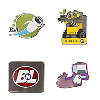 Disney Wall-E Booster Pin Pack