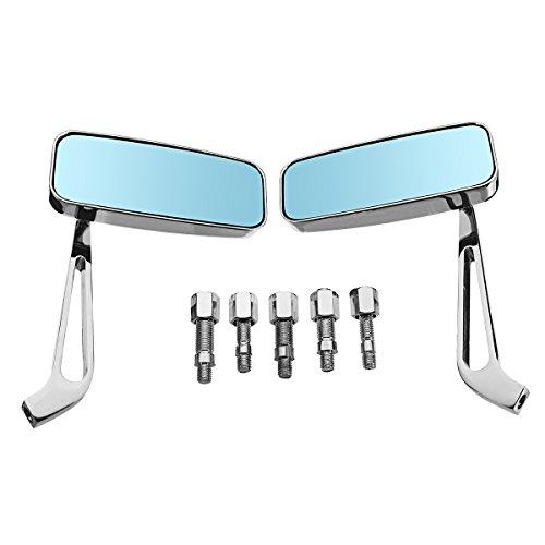 Quora Seitenspiegel, 8 mm/10 mm, Chrom-Aluminiumlegierung, Motorradspiegel