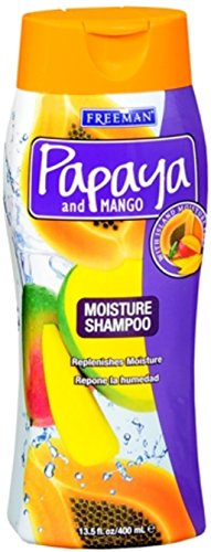 Freeman Papaya and Mango Massive Moisture Shampoo 13.50 oz (Pack of 2)
