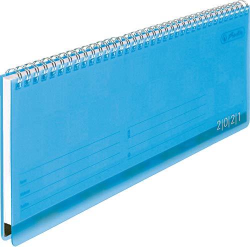 Schreibtischkalender transluz. 2021 (Blau)