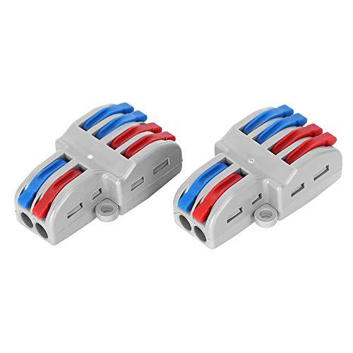 Iluminación de conectores de cableado de cable eléctrico de 5 piezas para...